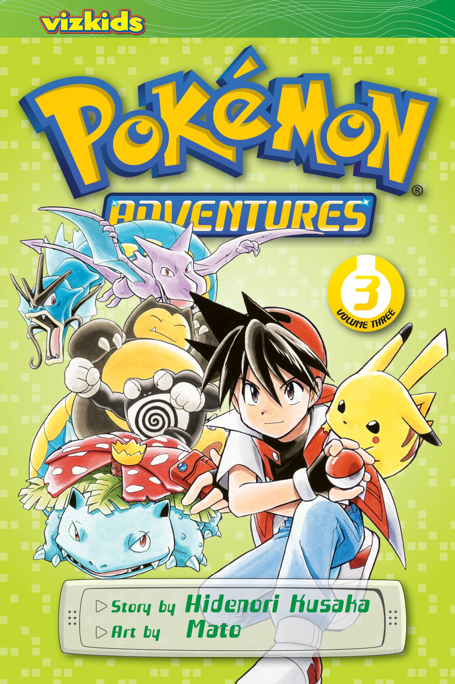 Pokemon adventures vol 3 2nd edition 9781421530567 hr