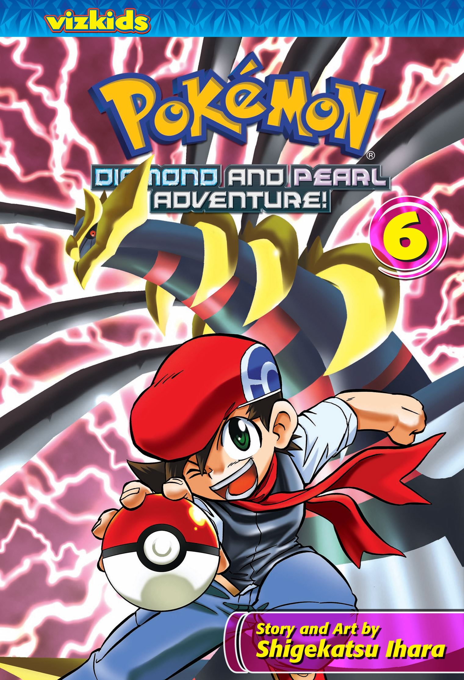 Pokemon diamond and pearl adventure vol 6 9781421531700 hr