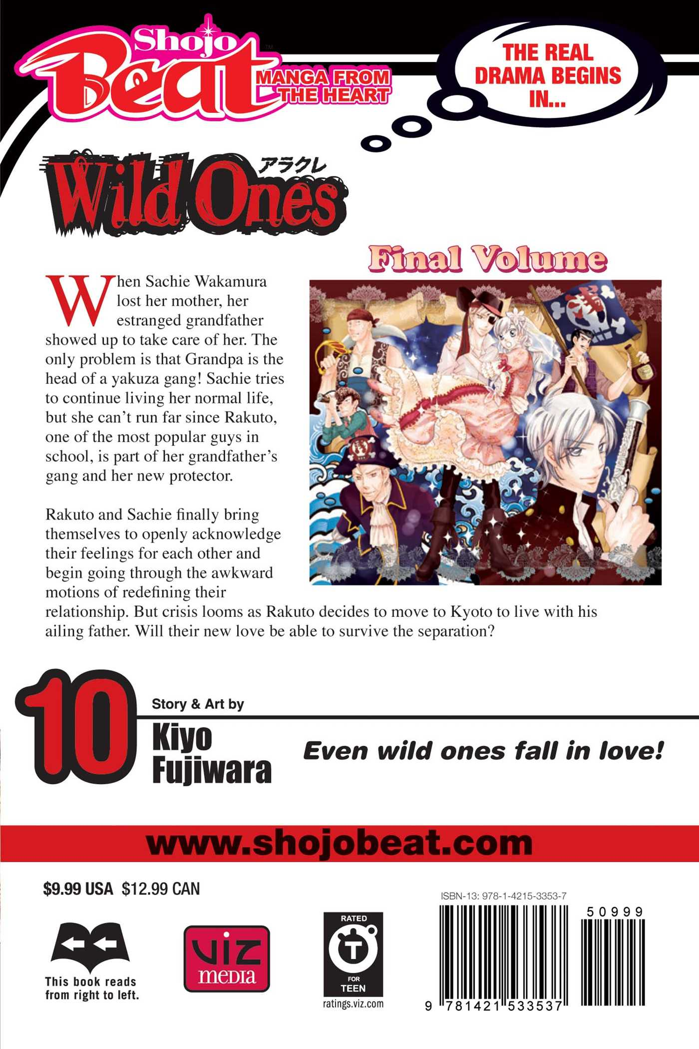 Wild ones vol 10 9781421533537 hr back