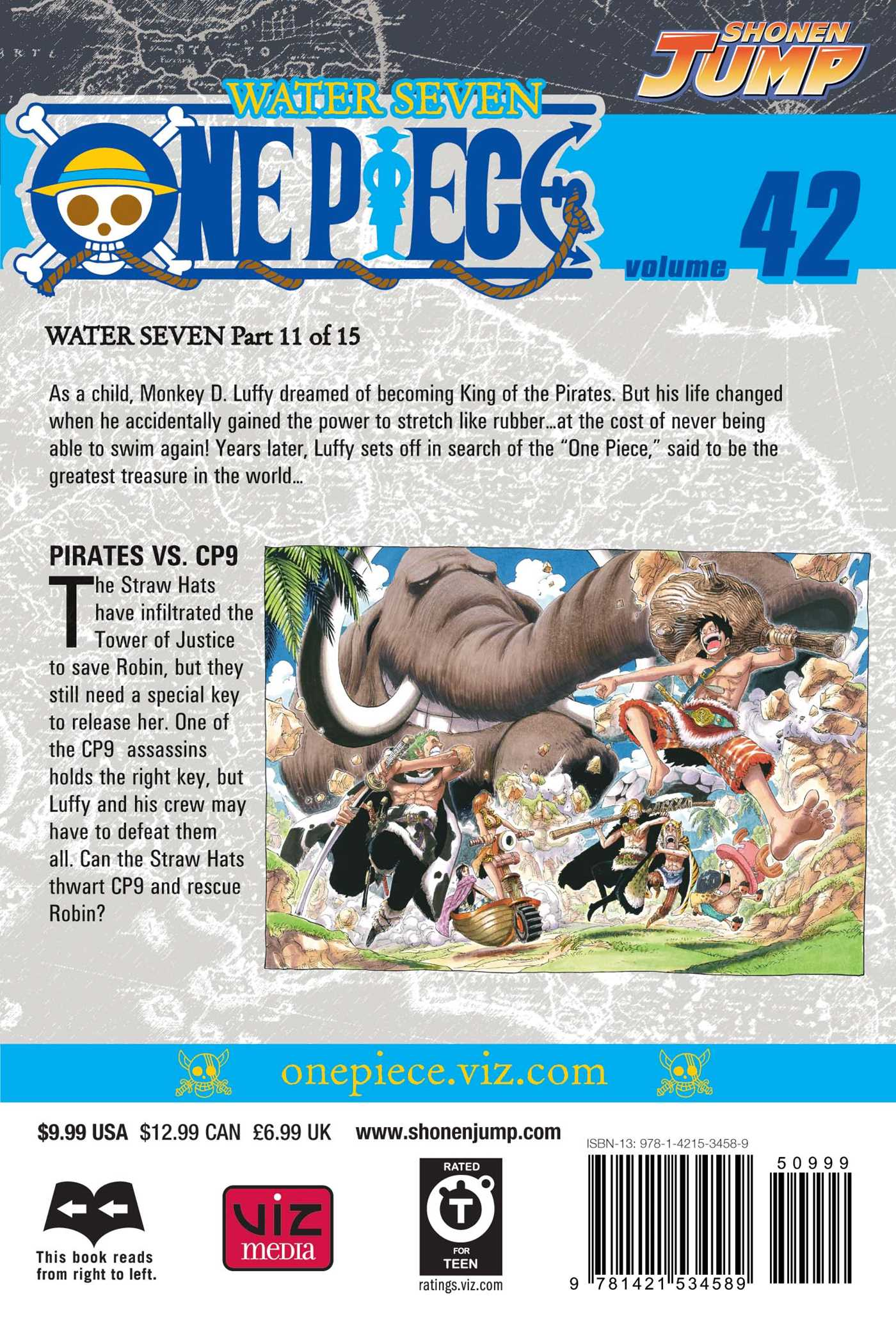 One piece vol 42 9781421534589 hr back