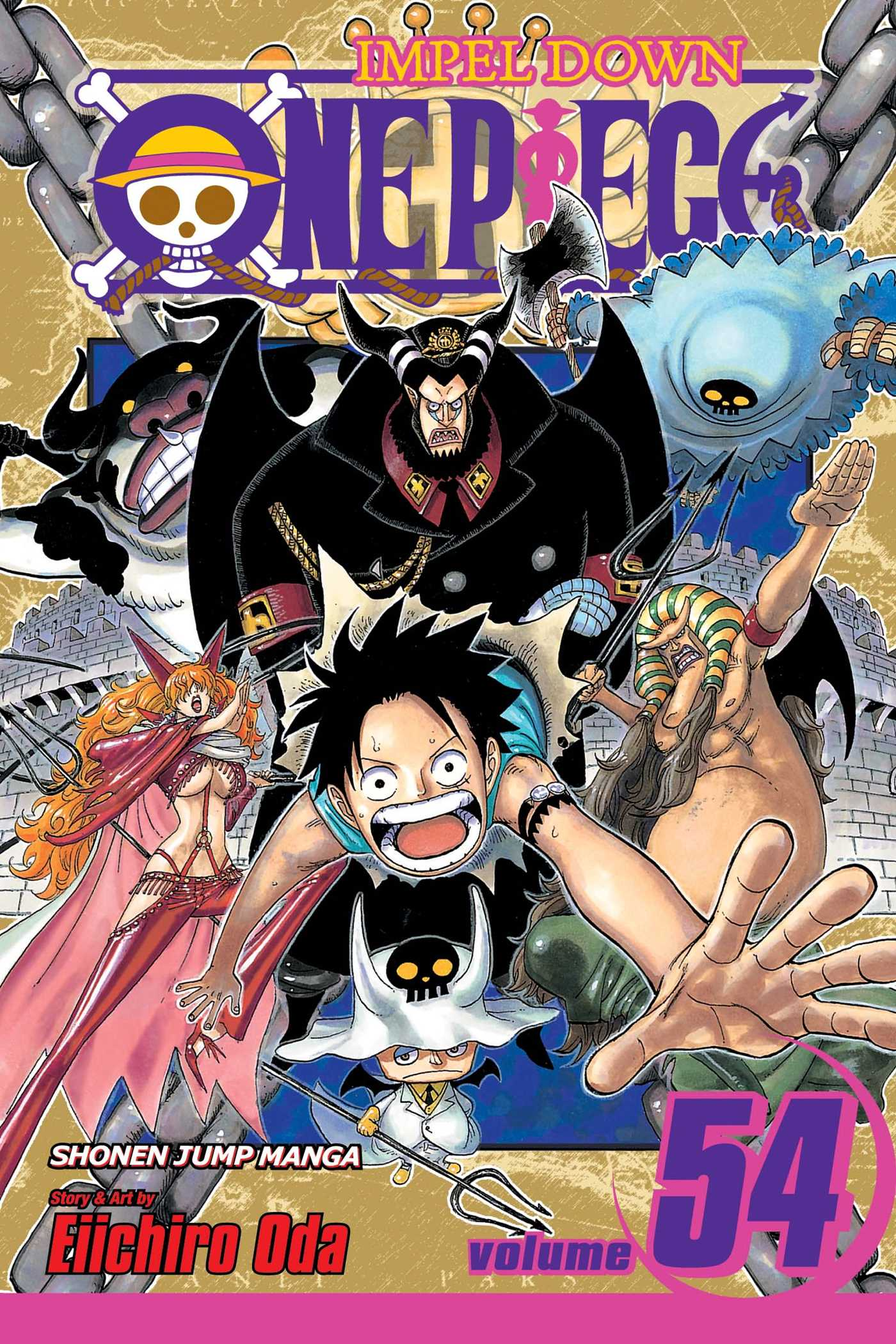 One piece vol 54 9781421534701 hr