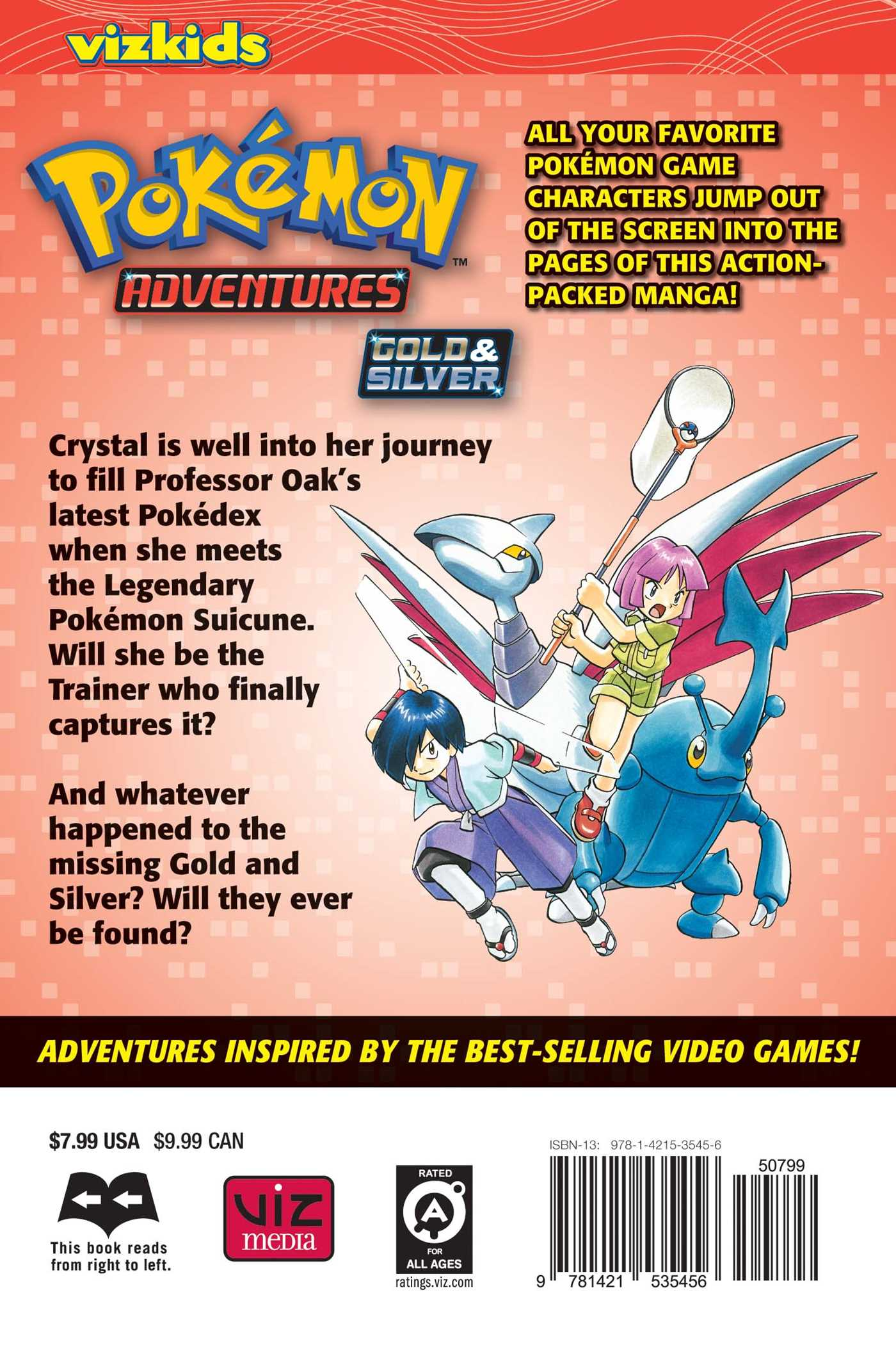 Pokemon adventures vol 11 9781421535456 hr back