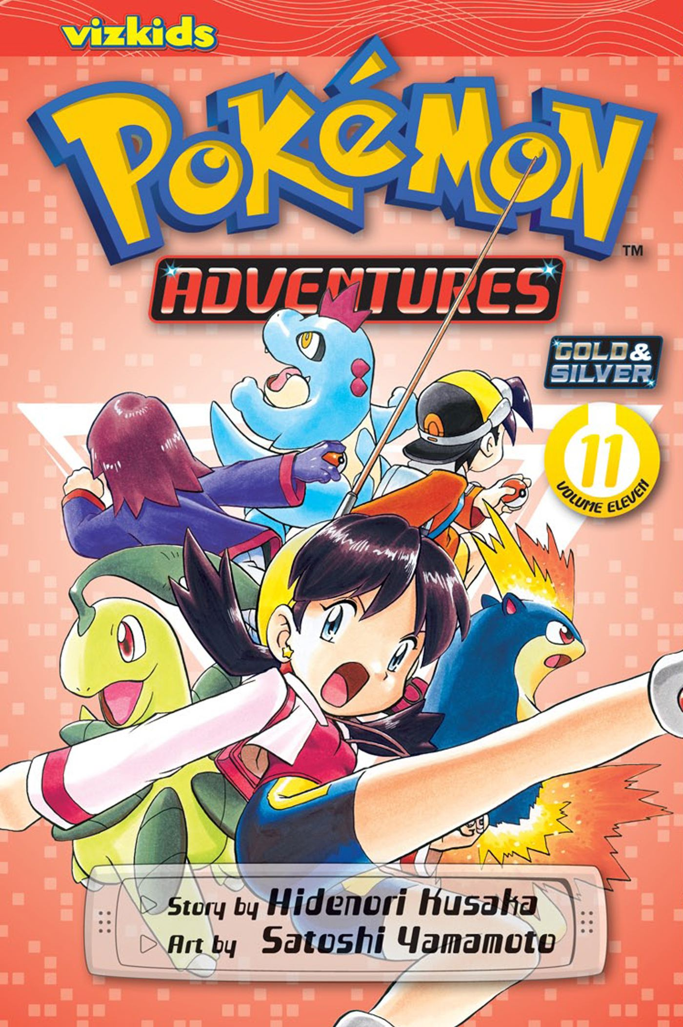 Pokemon adventures vol 11 9781421535456 hr