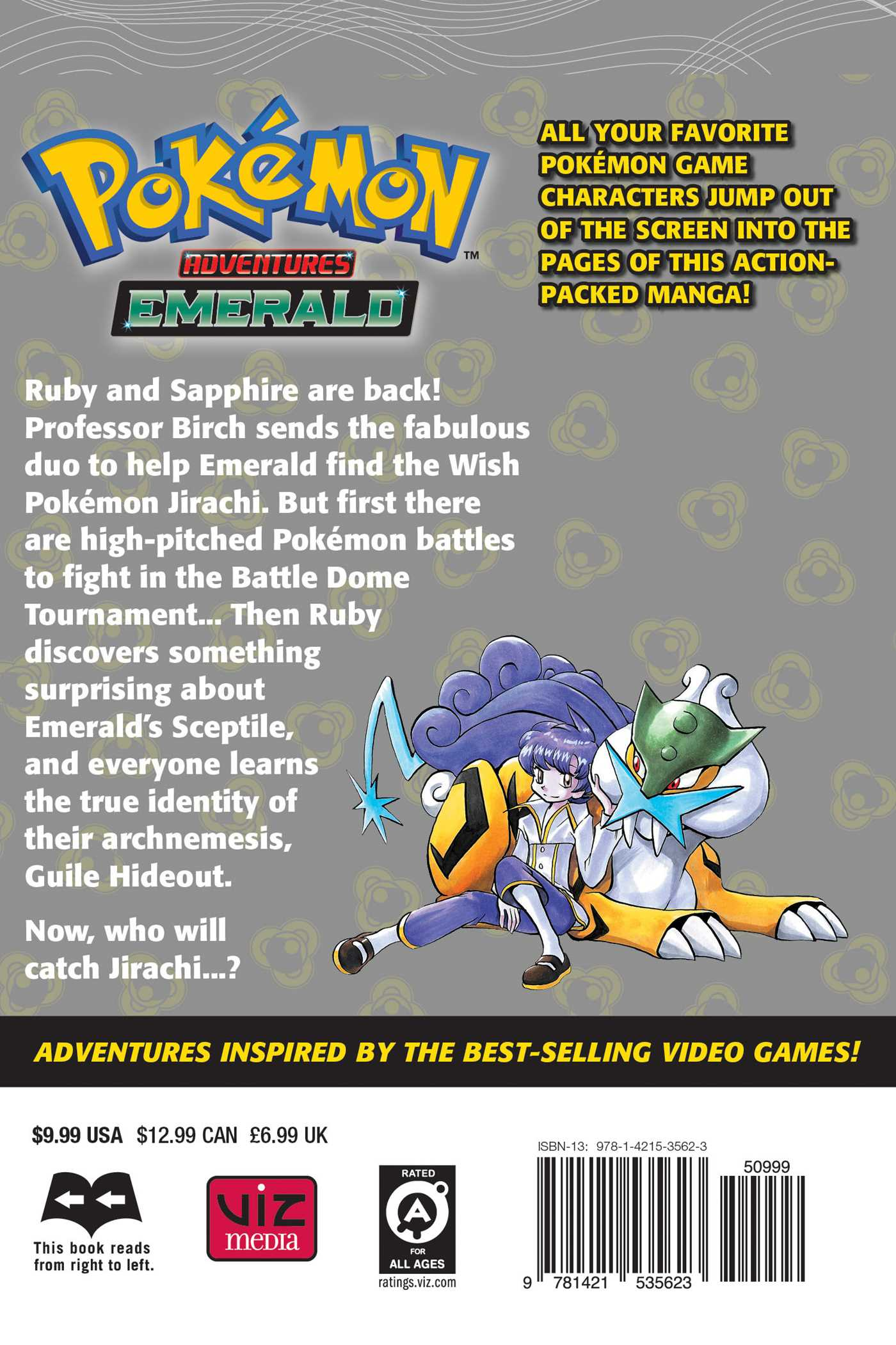 Pokemon adventures vol 28 9781421535623 hr back