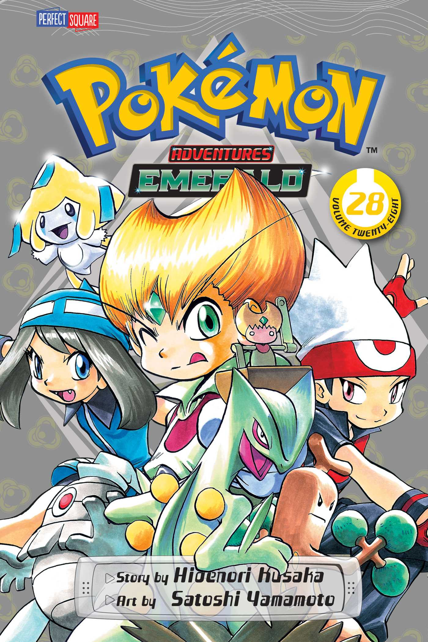 Pokemon adventures vol 28 9781421535623 hr