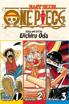 One Piece:  East Blue 1-2-3, Vol. 1 (Omnibus Edition)