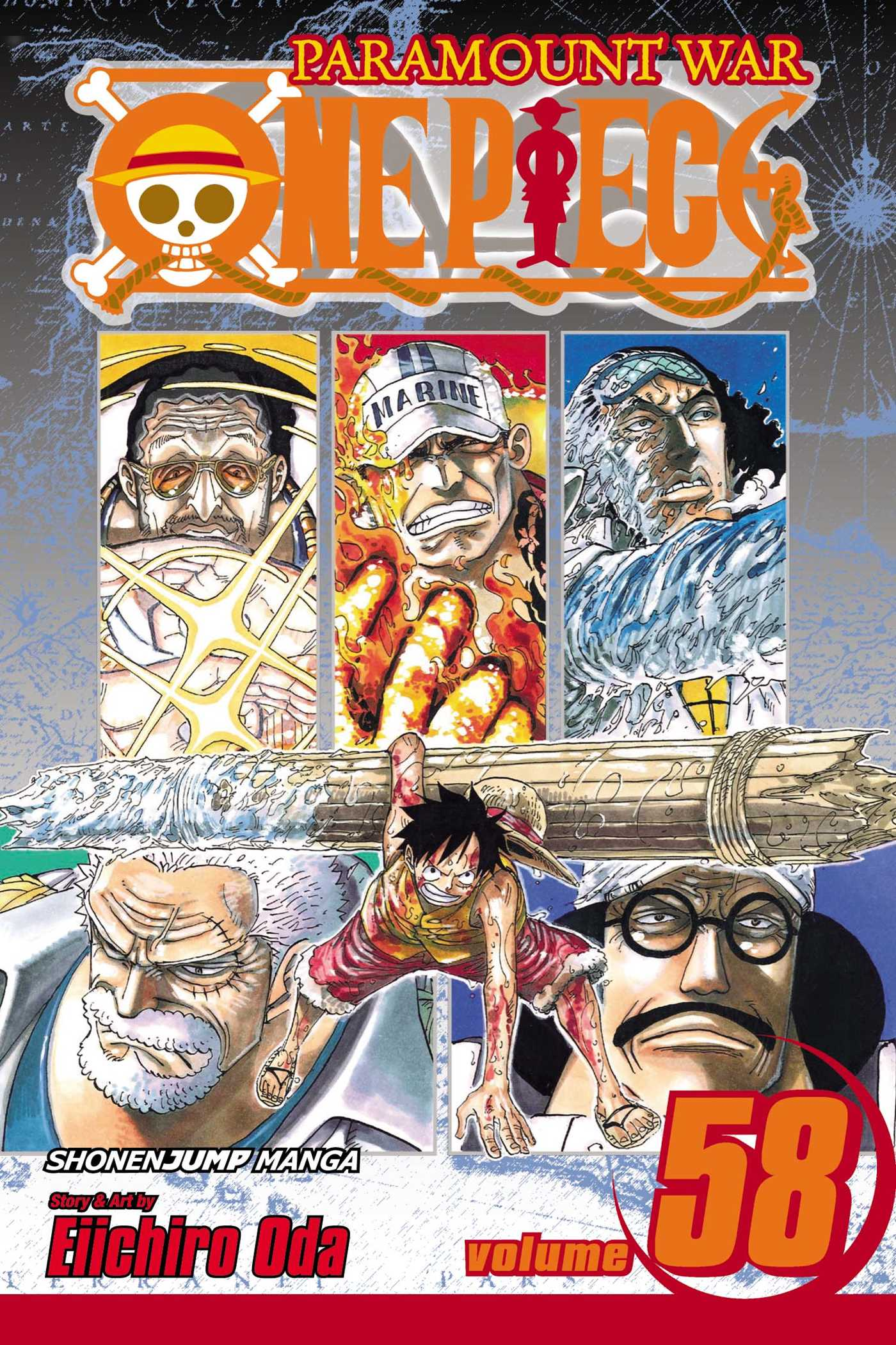 One piece vol 58 9781421539263 hr