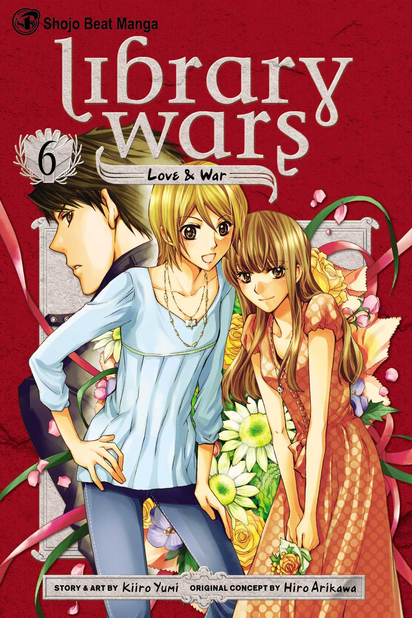 Library wars love war vol 6 9781421539775 hr