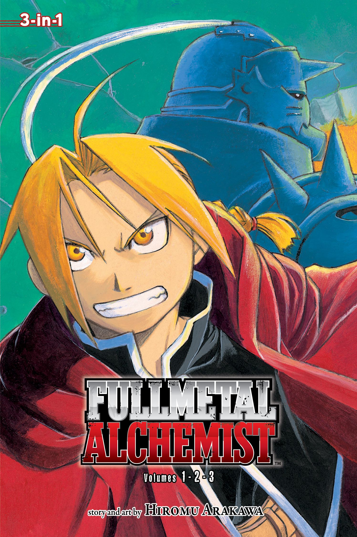 Fullmetal alchemist 3 in 1 edition vol 1 9781421540184 hr