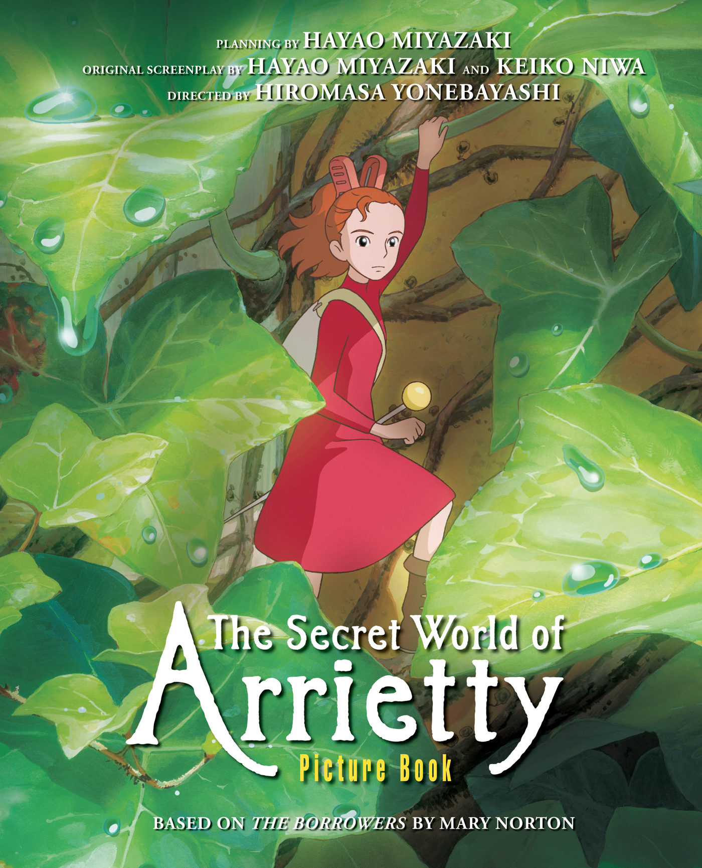 The secret world of arrietty picture book 9781421541150 hr