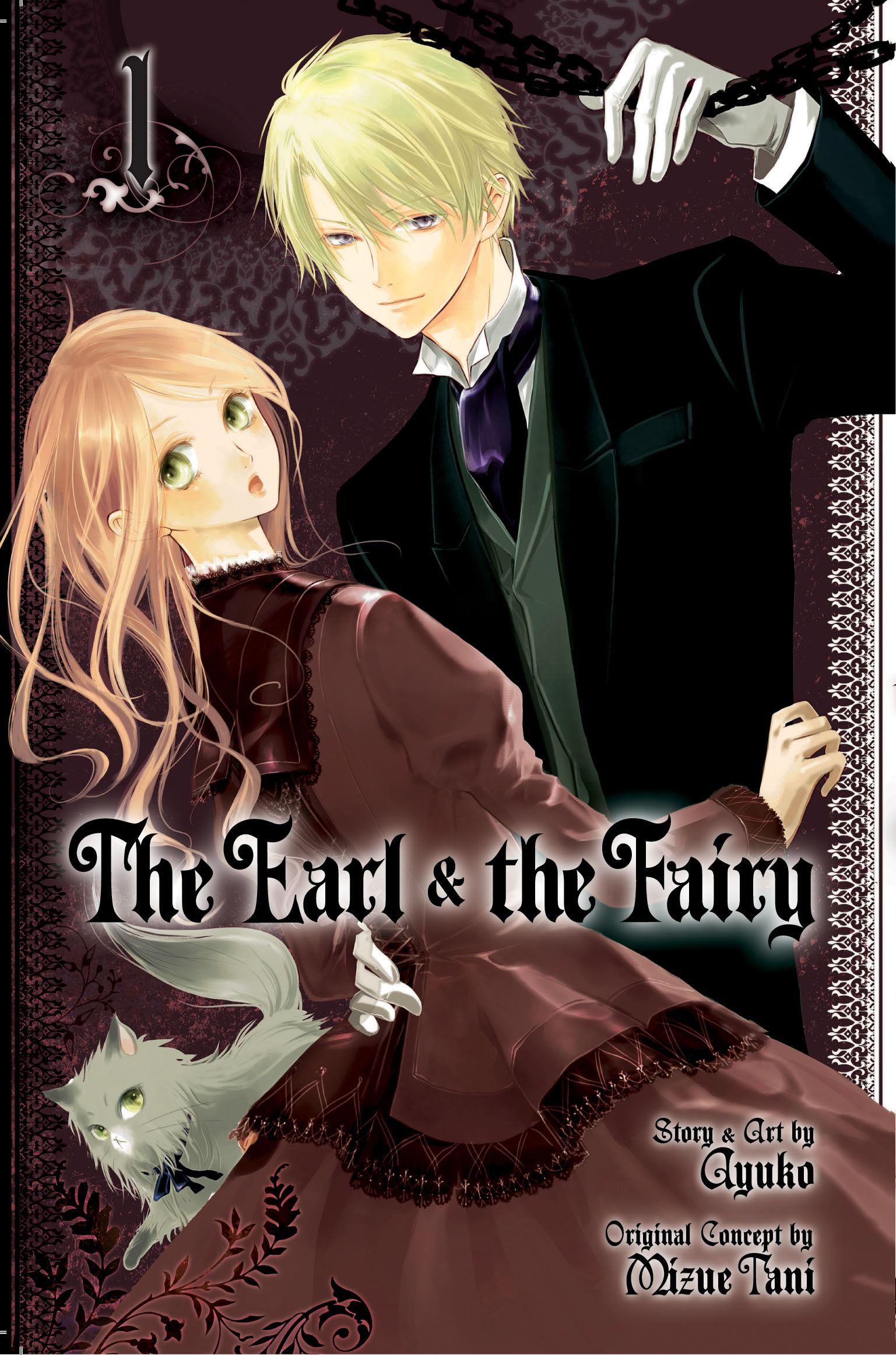 The earl and the fairy vol 1 9781421541686 hr
