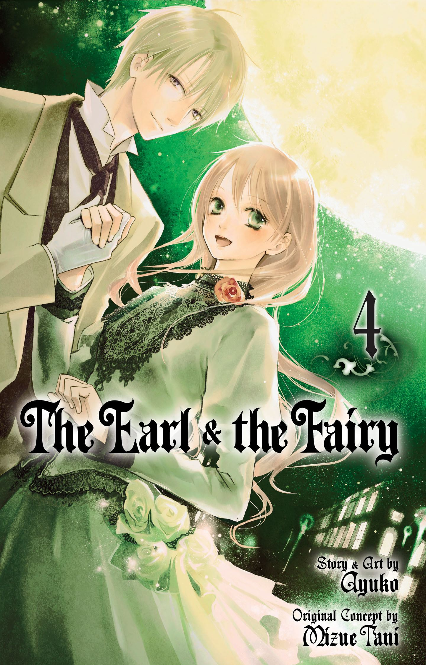 The earl and the fairy vol 4 9781421541716 hr