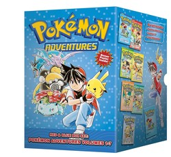 Pokémon Adventures Red & Blue Box Set (set includes Vol. 1-7)