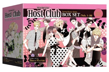 Ouran High School Host Club Box Set
