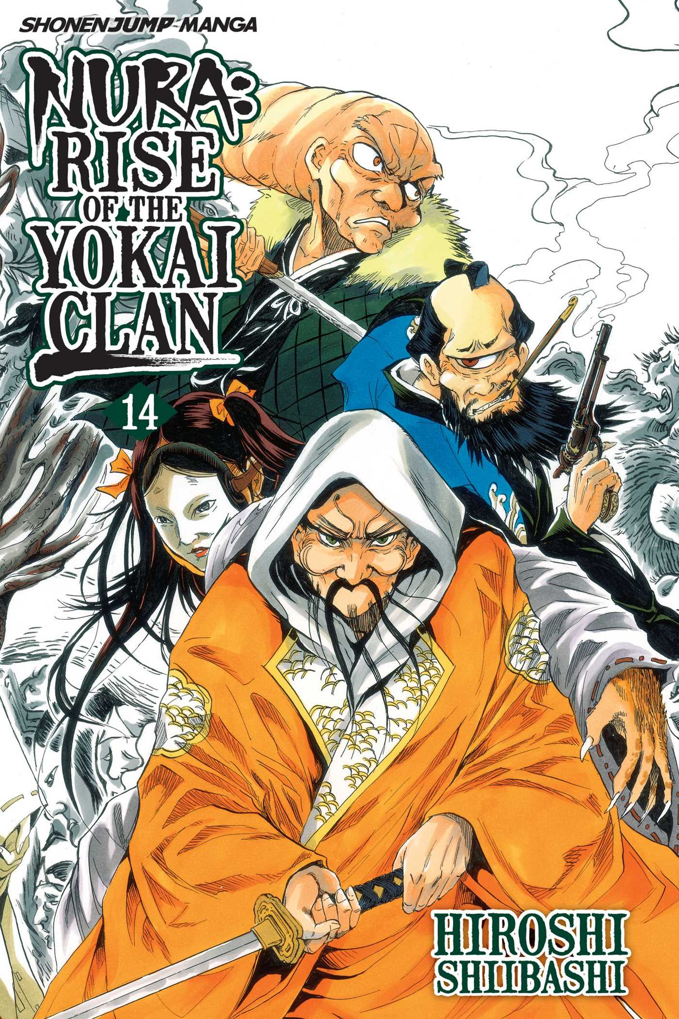 Nura rise of the yokai clan vol 14 9781421551395 hr