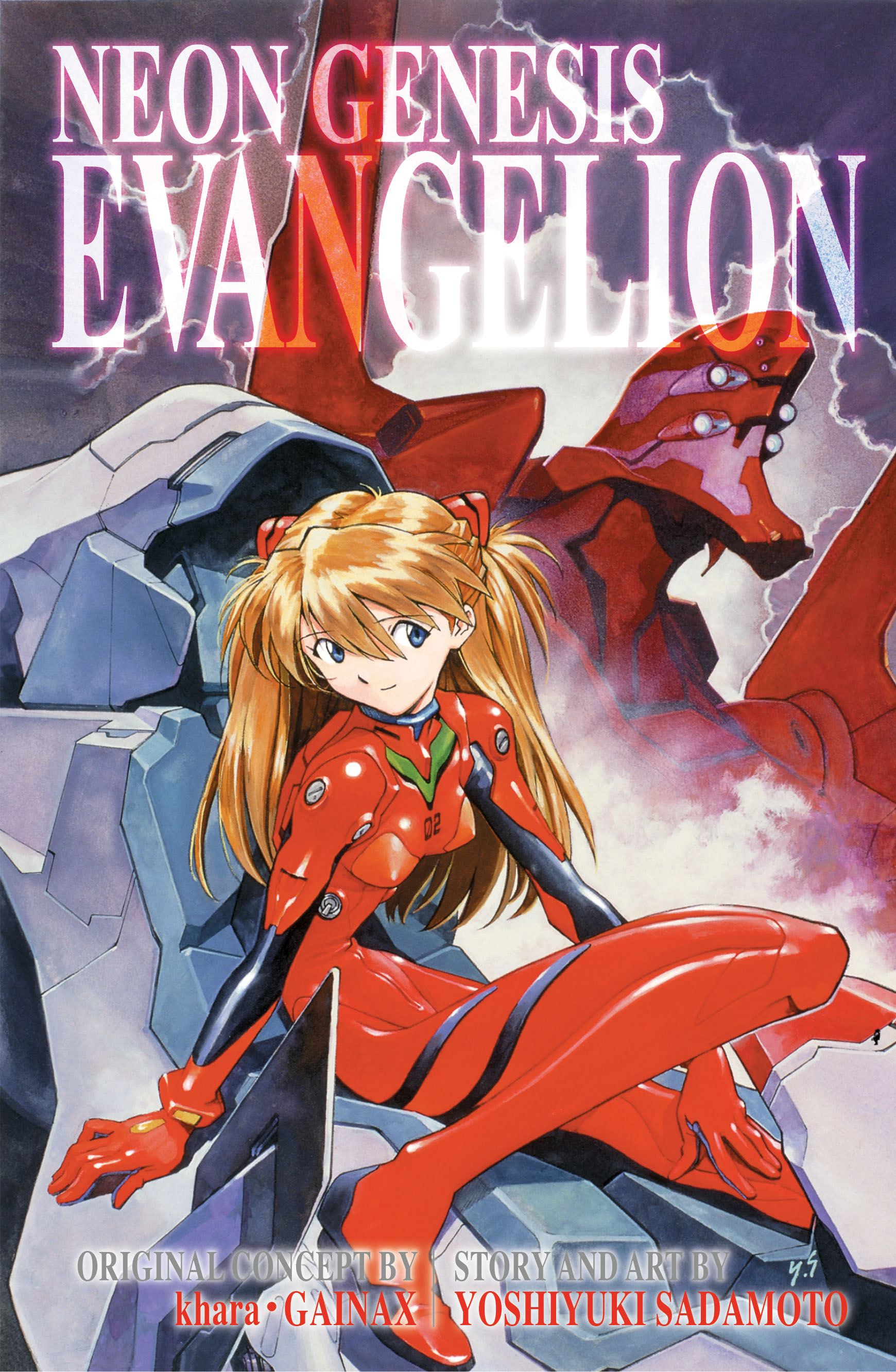 Neon genesis evangelion 3 in 1 edition vol 3 9781421553627 hr