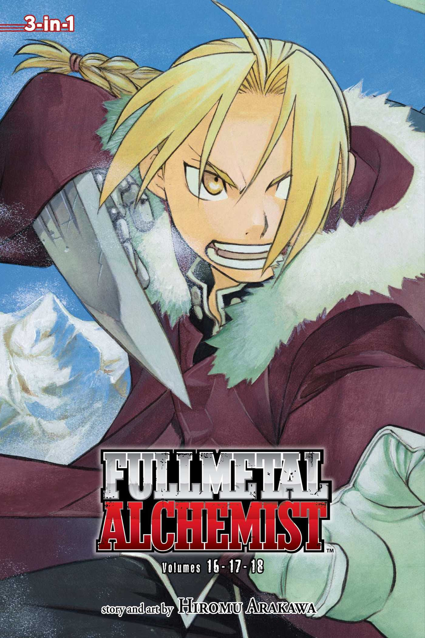 Fullmetal alchemist 3 in 1 edition vol 6 9781421554938 hr
