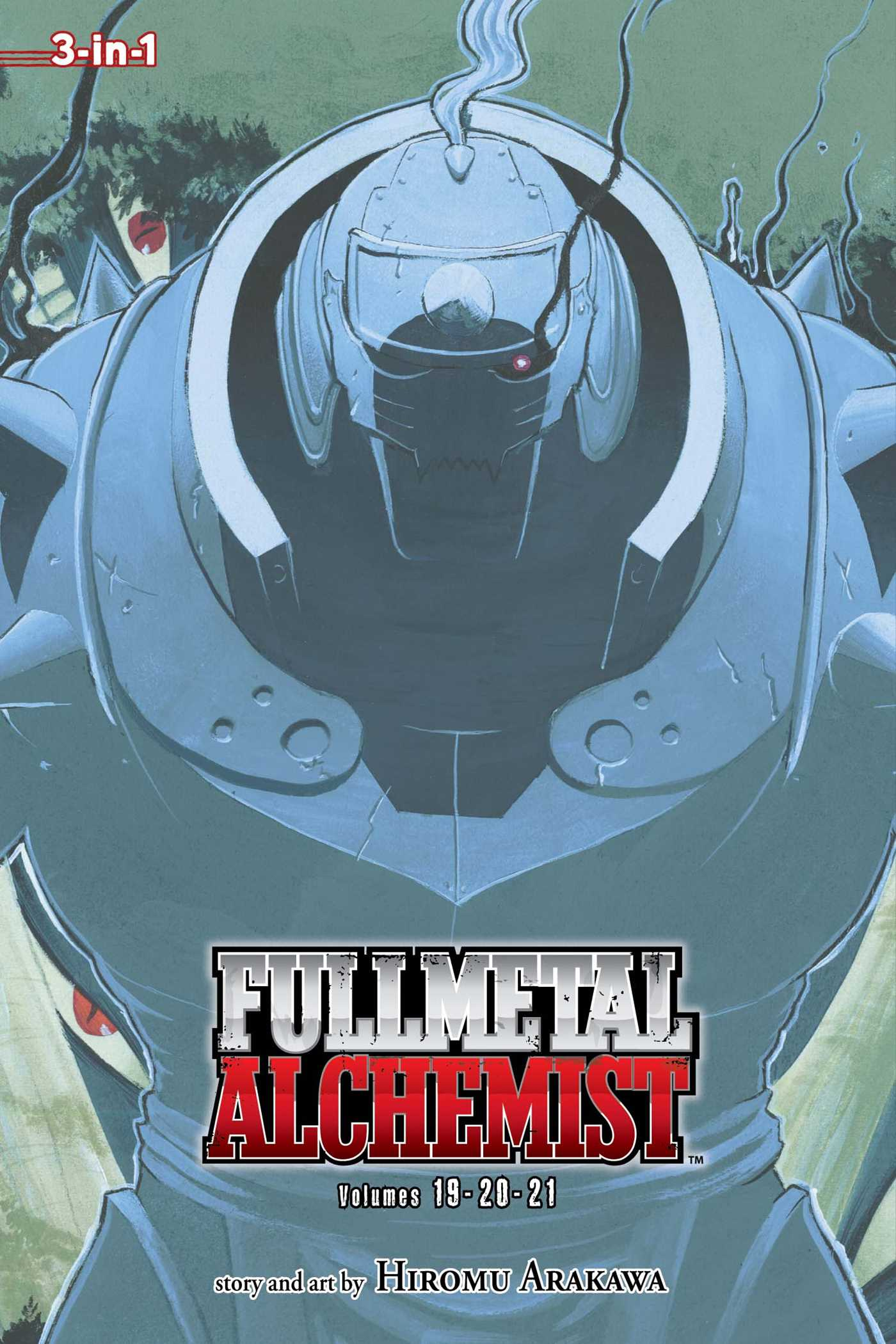 Fullmetal alchemist 3 in 1 edition vol 7 9781421554945 hr