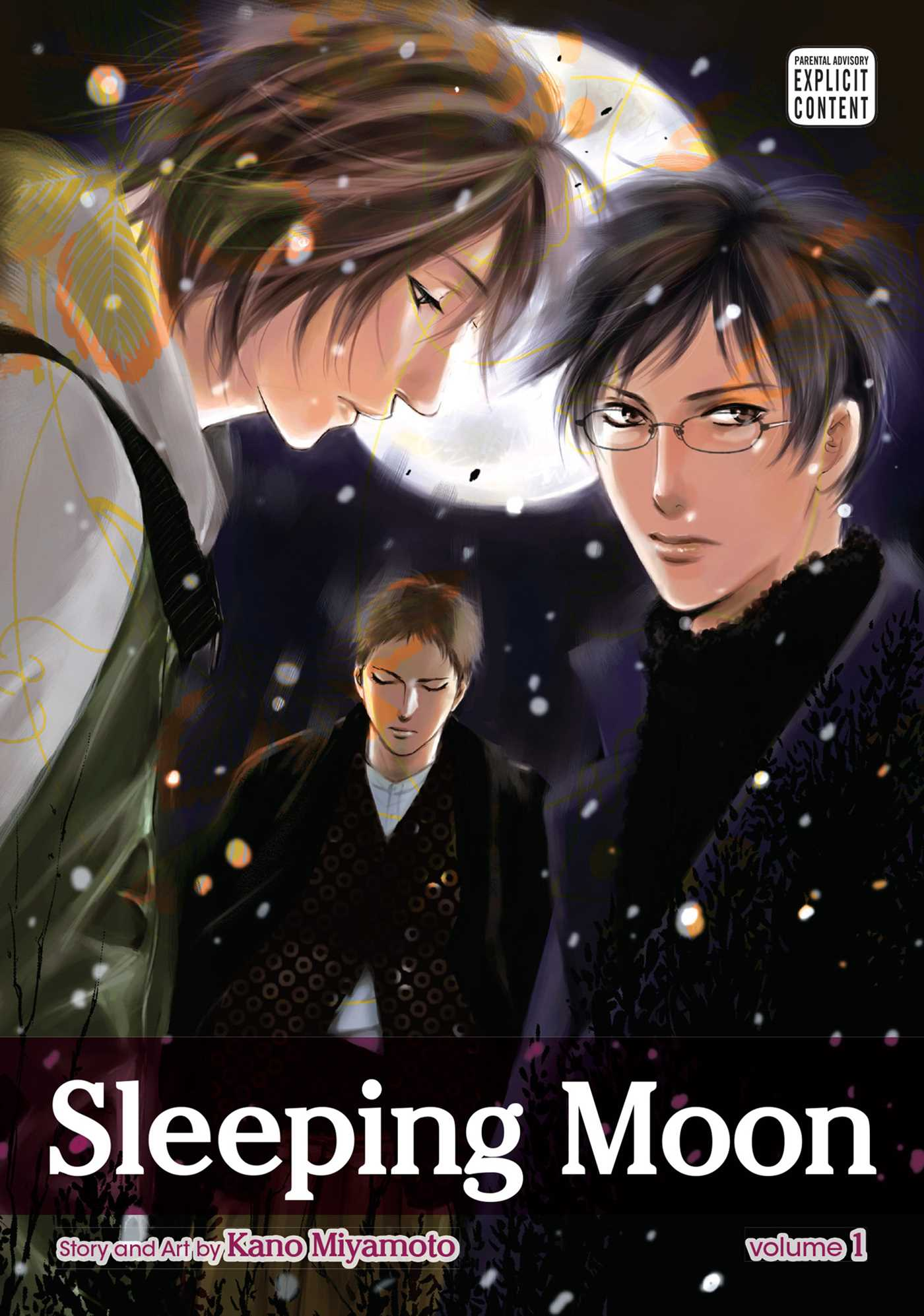 Sleeping moon vol 1 9781421555508 hr