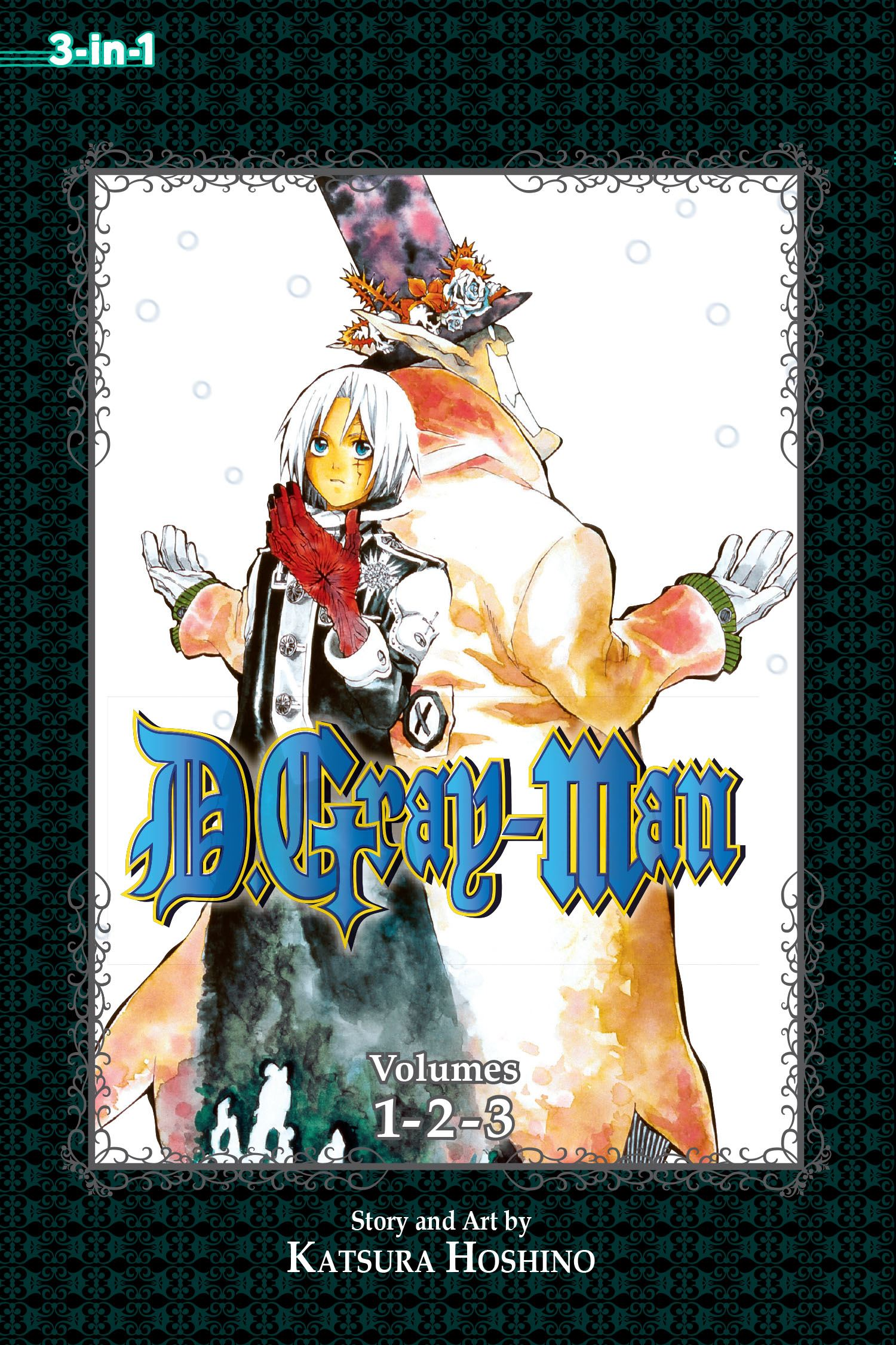 D gray man 3 in 1 edition vol 1 9781421555676 hr