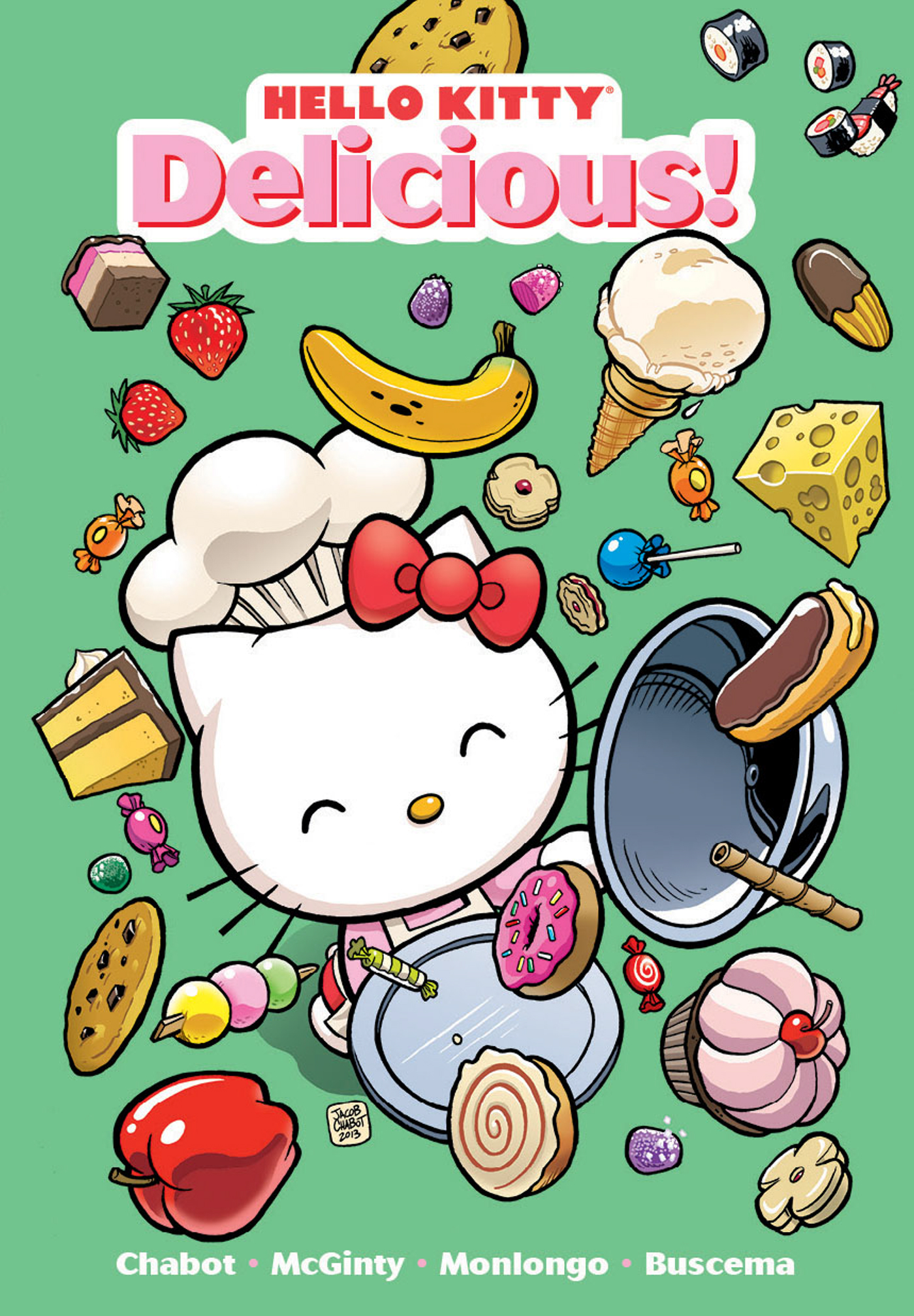 Hello kitty delicious book by jorge monlongo for Bureau hello kitty