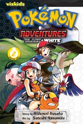 Pokémon Adventures: Black and White, Vol. 2