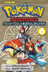 Pokémon Adventures: Heart Gold Soul Silver, Vol. 1