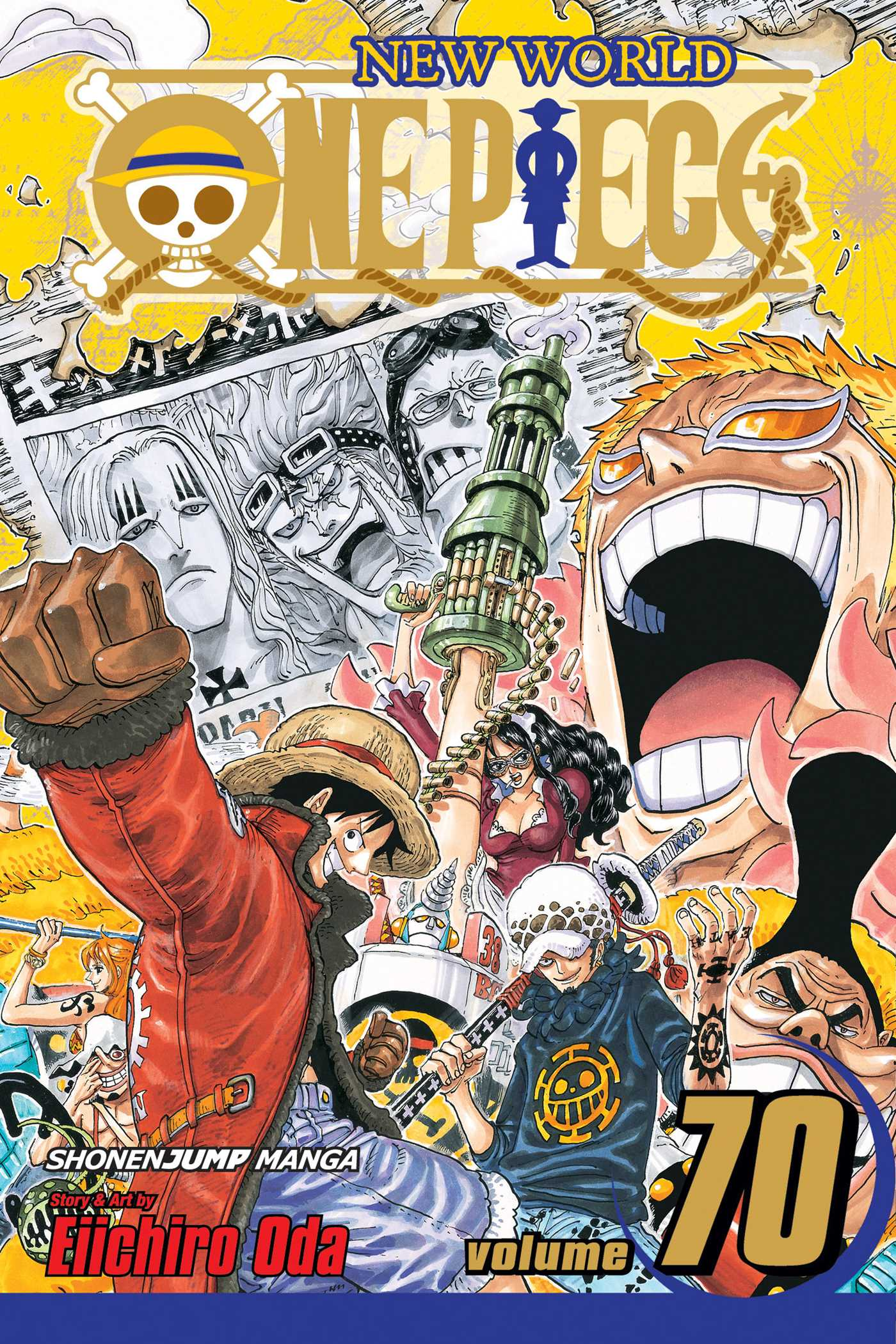 One piece vol 70 9781421564609 hr