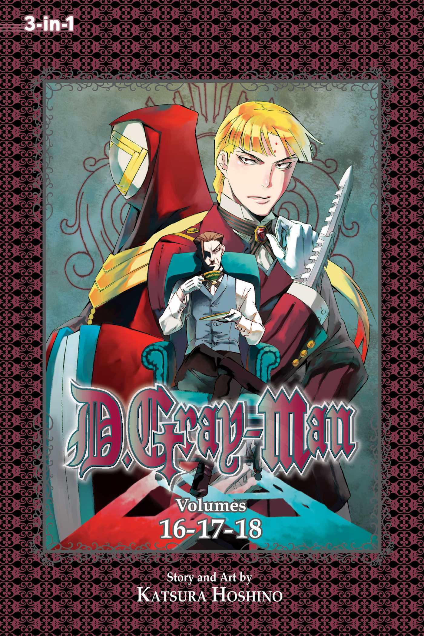D gray man 3 in 1 edition vol 6 9781421564692 hr