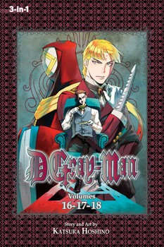 D.Gray-man (3-in-1 Edition), Vol. 6