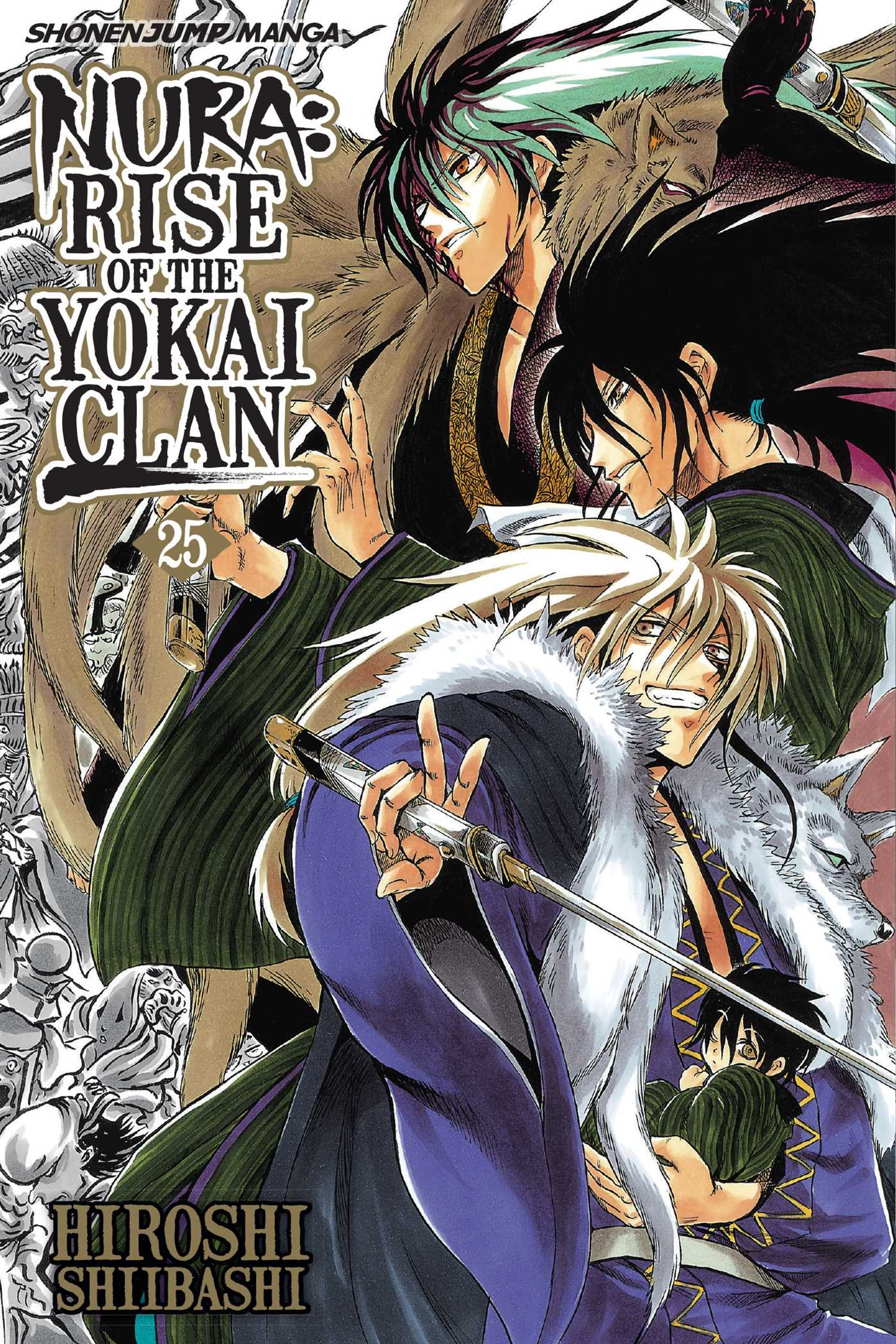 Nura rise of the yokai clan vol 25 9781421564807 hr
