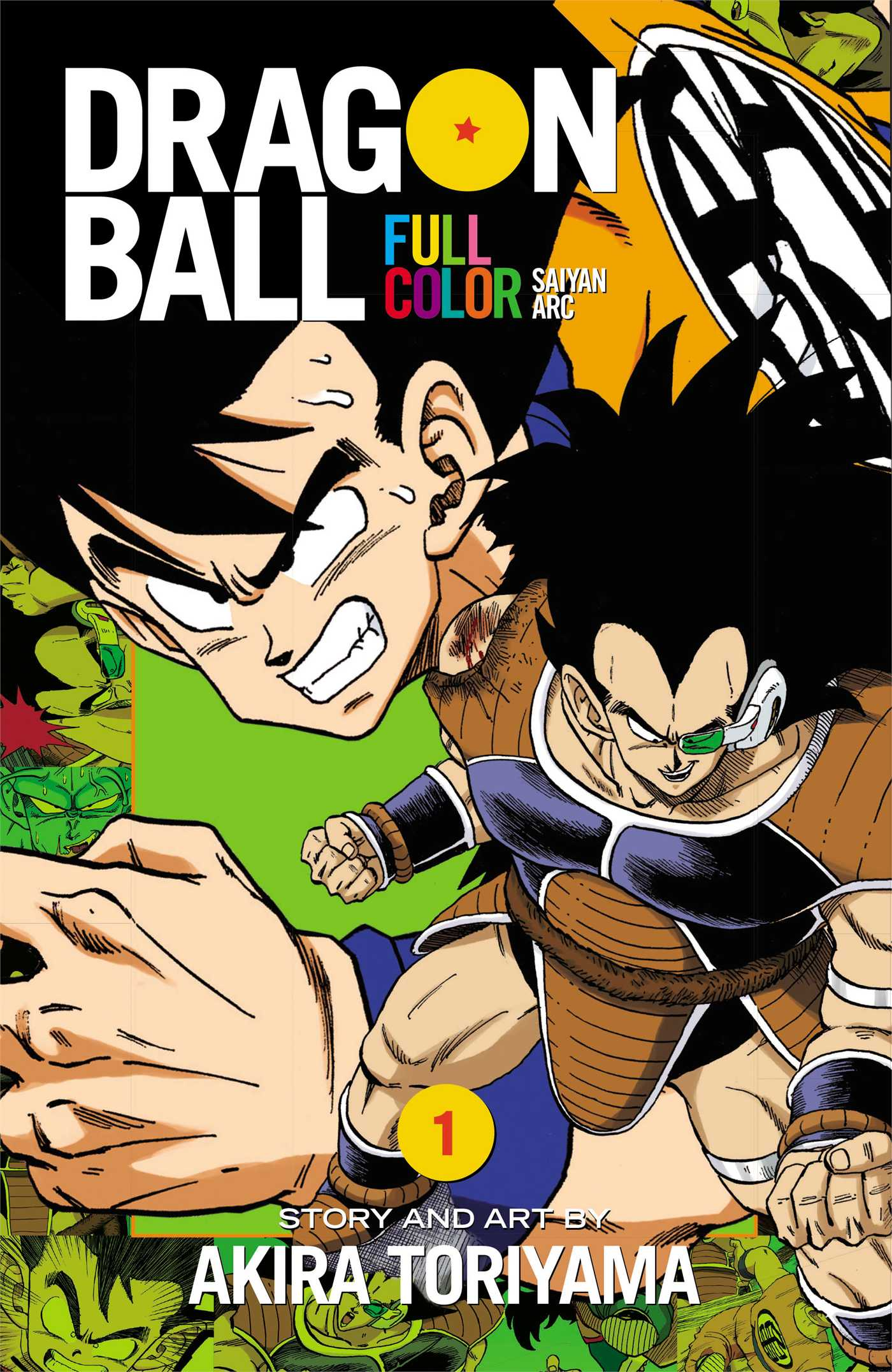 Dragon ball full color vol 1 9781421565927 hr