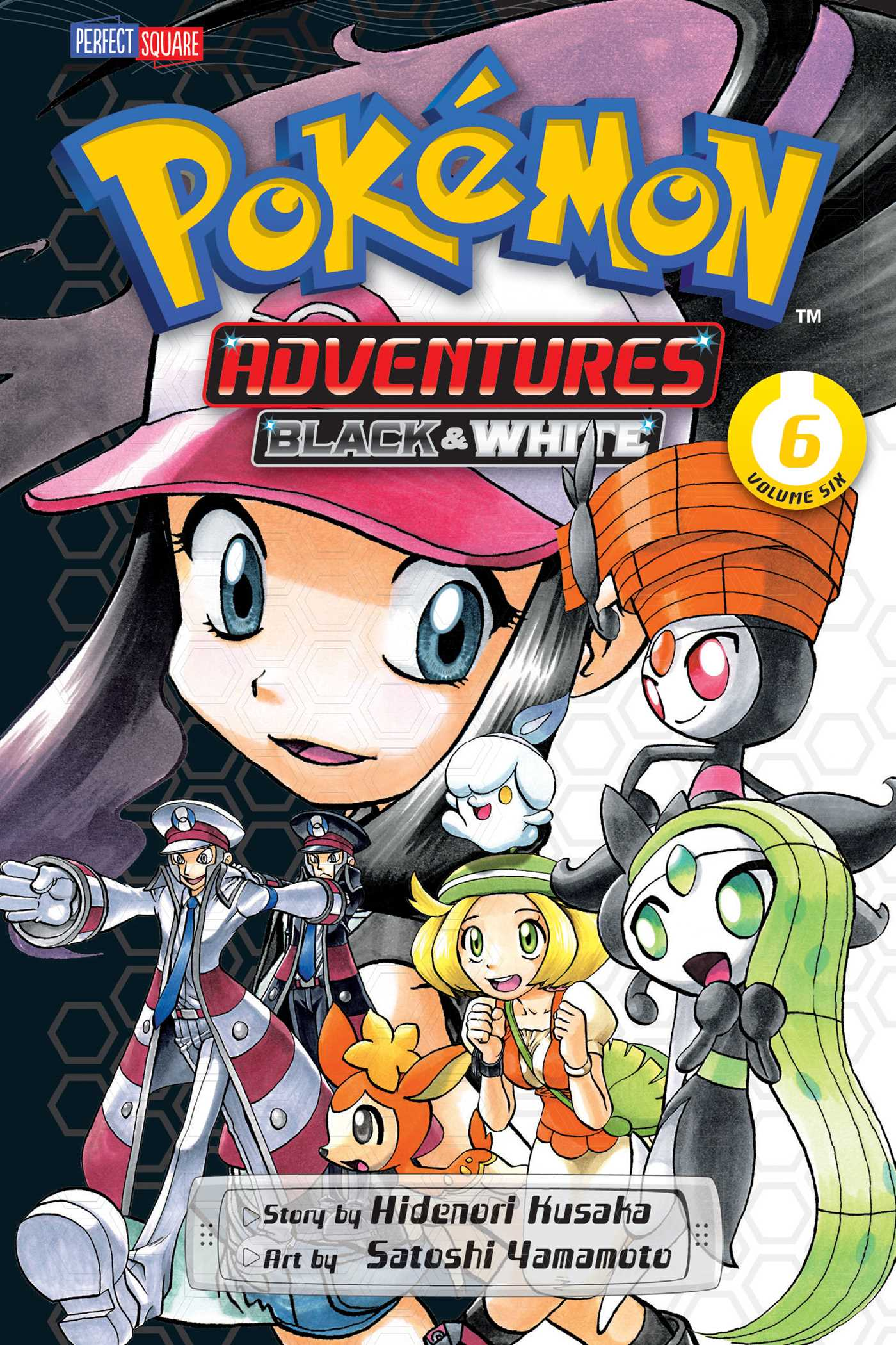 Pokemon adventures black and white vol 6 9781421571812 hr