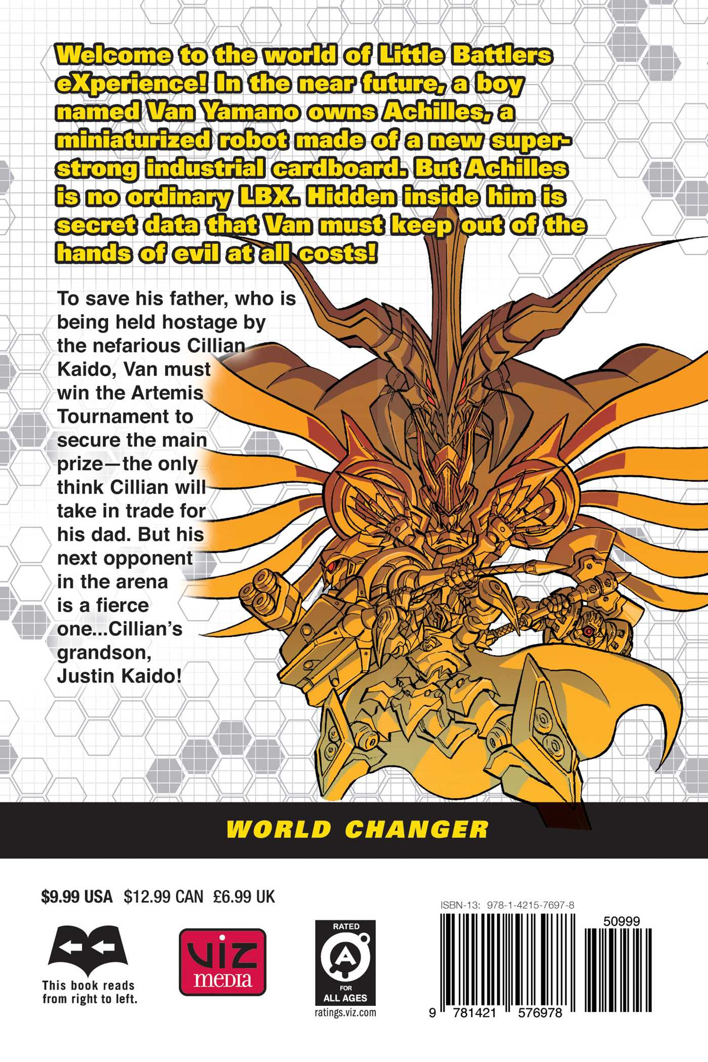 Lbx world changer vol 3 9781421576978 hr back