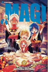 Magi: The Labyrinth of Magic, Vol. 17