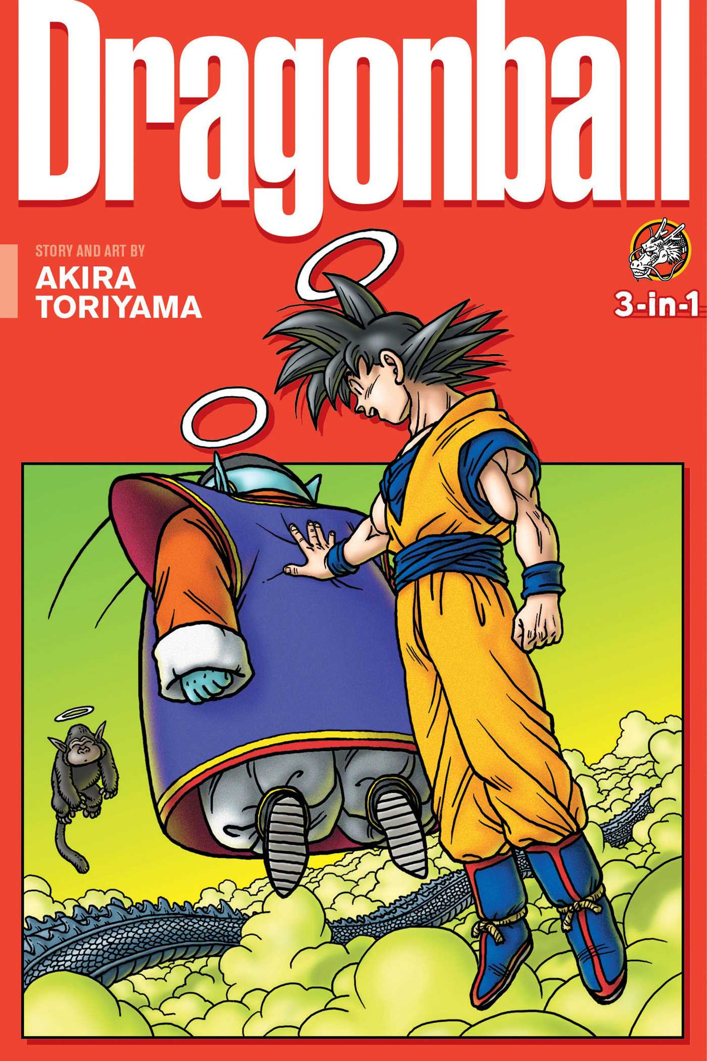 dragon ball 3 in 1 edition vol 12 book by akira