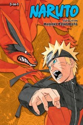 Naruto (3-in-1 Edition), Vol. 17