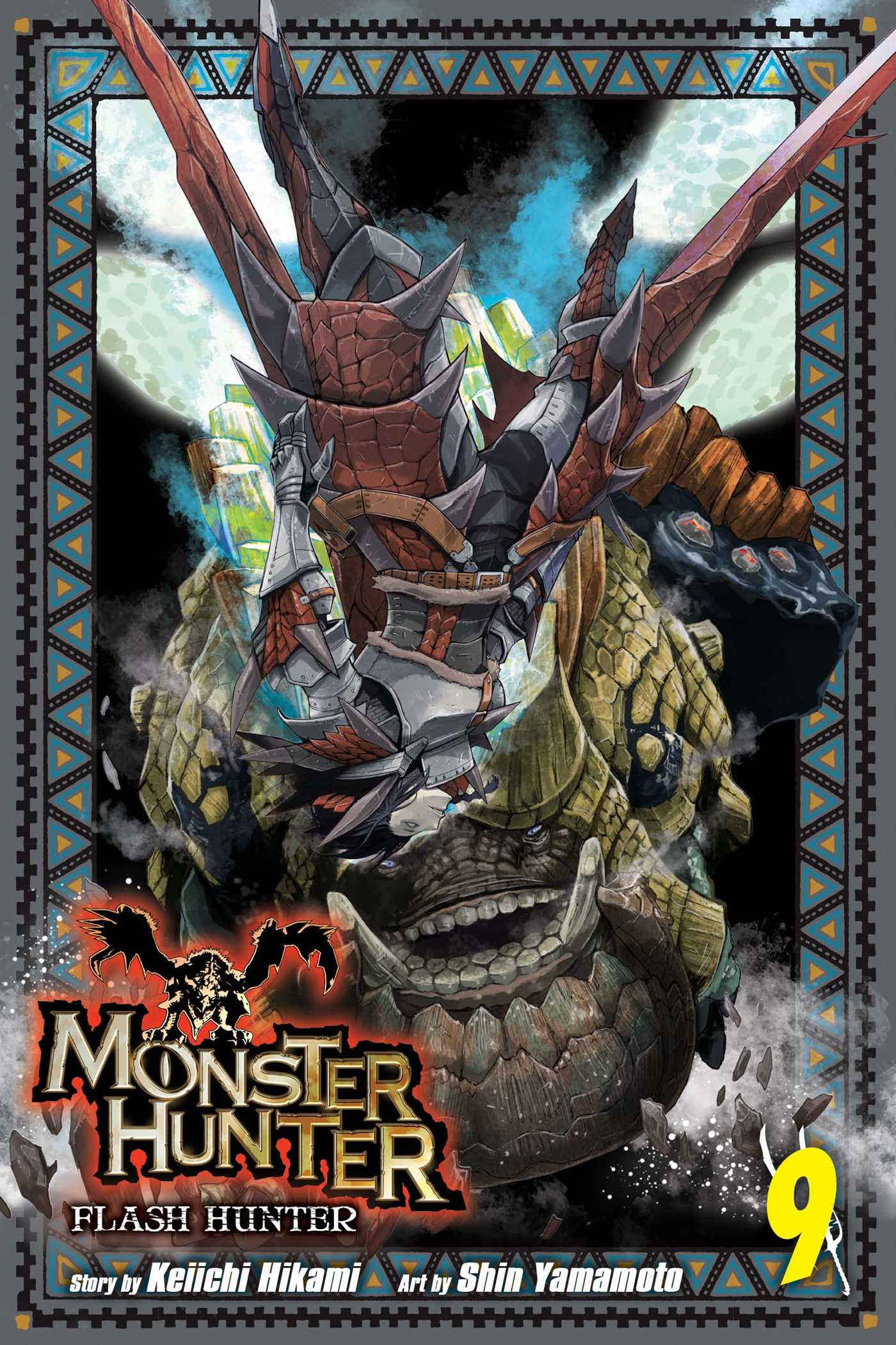 Monster hunter flash hunter vol 9 9781421584348 hr