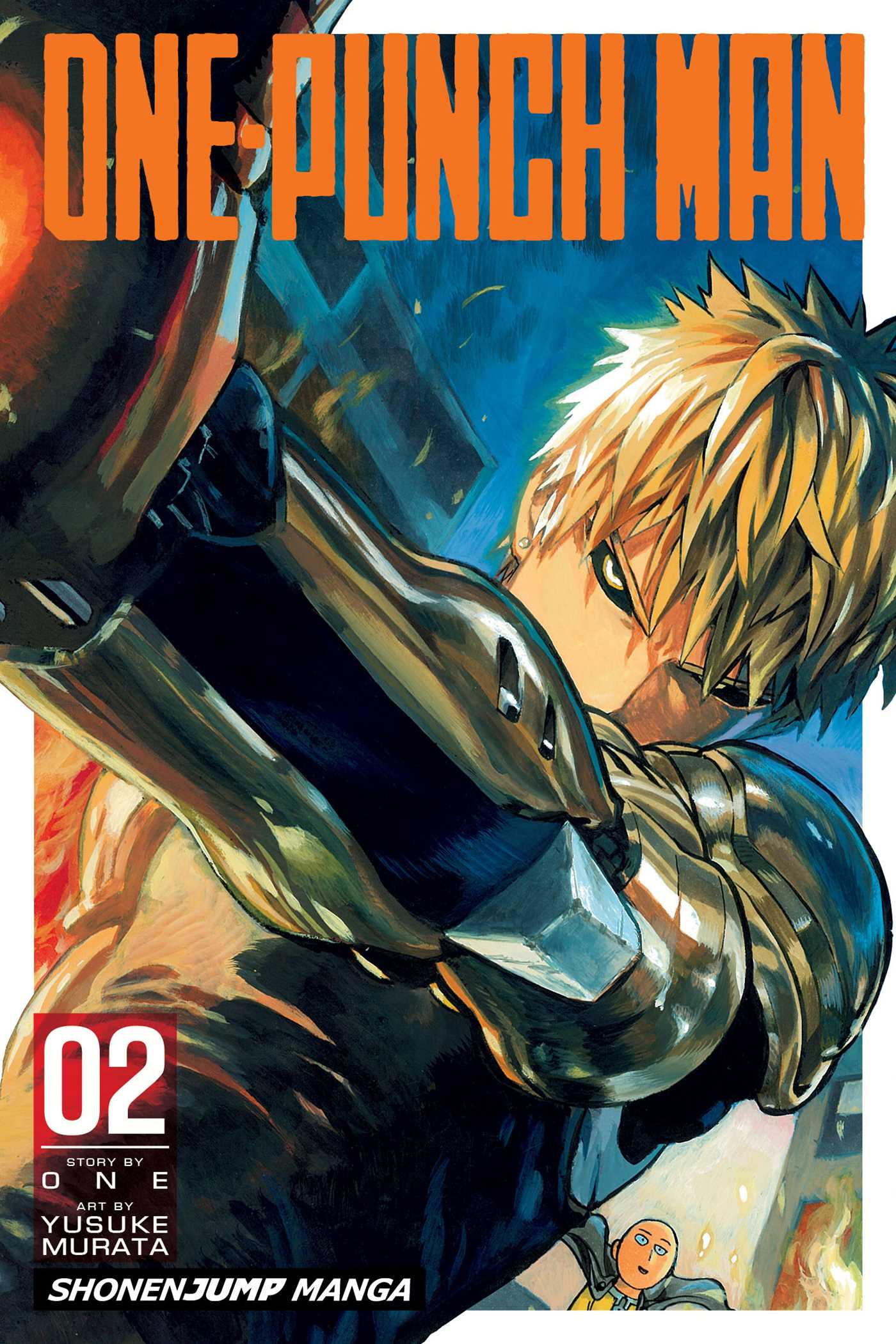 One Punch Man Vol 2 9781421585659 Hr