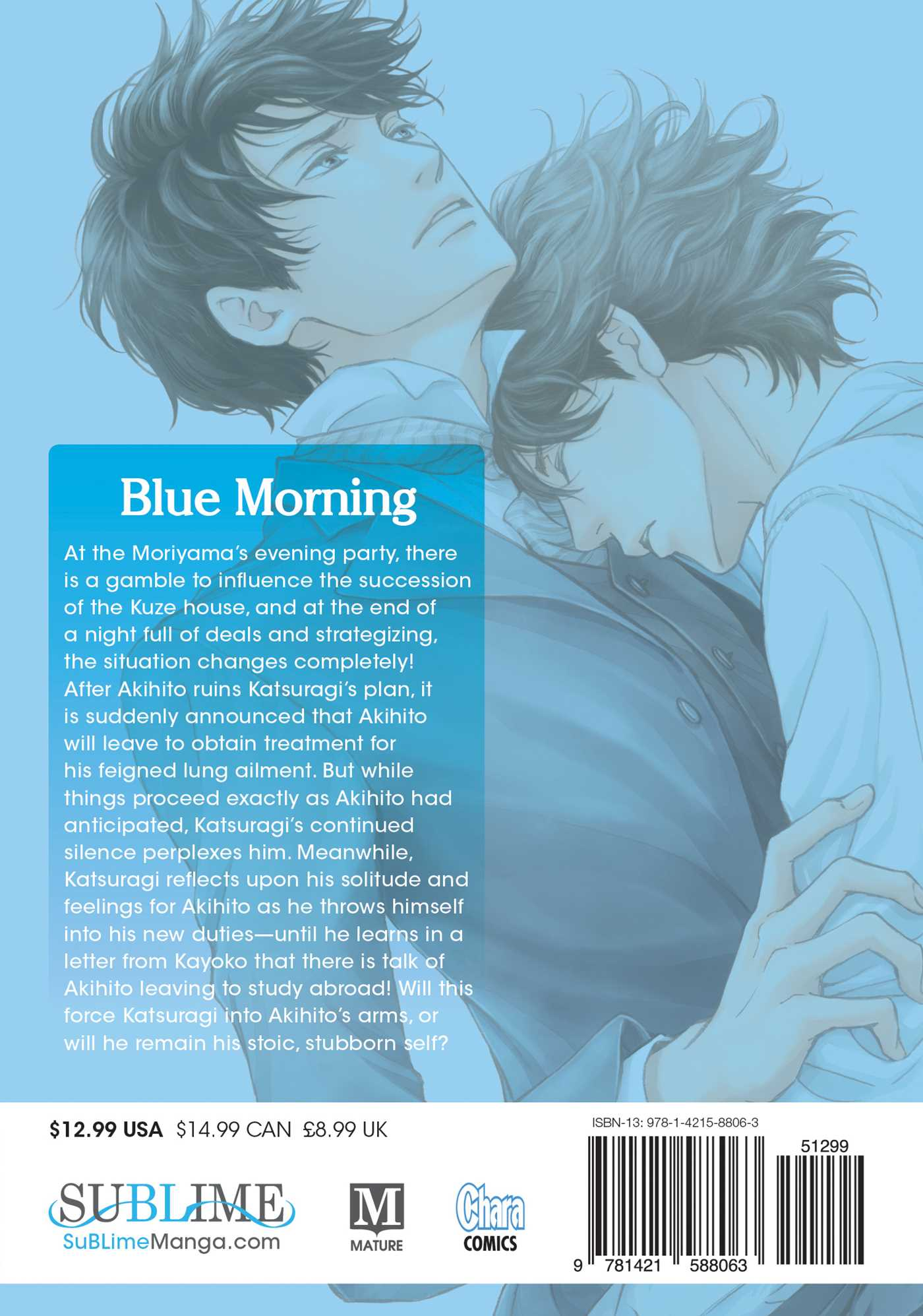 Blue morning vol 6 9781421588063 hr back