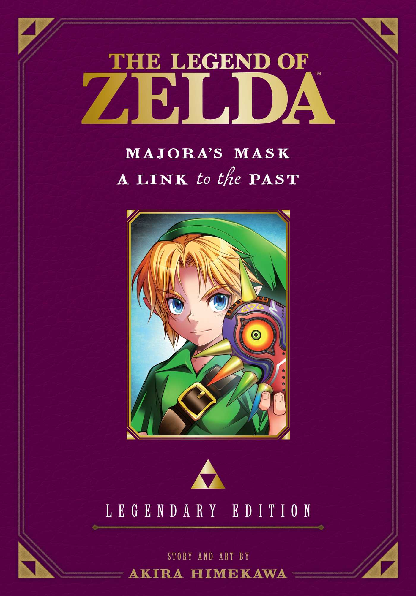 The legend of zelda legendary edition vol 3 9781421589619 hr