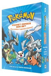 Pokemon Pocket Comics Box Set