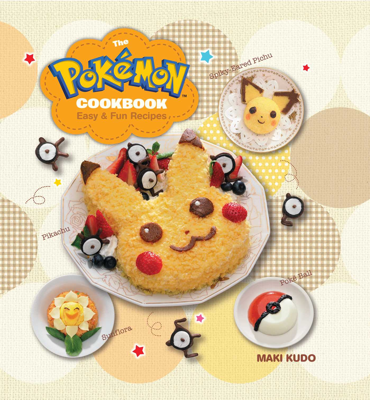 The pokmon cookbook book by maki kudo official publisher page book cover image jpg the pokmon cookbook forumfinder Images