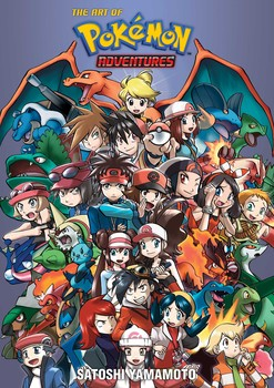 Pokémon Adventures 20th Anniversary Illustration Book