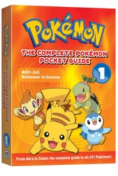 The Complete Pokémon Pocket Guide, Vol. 1