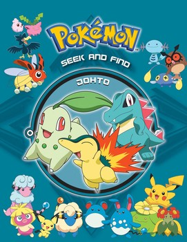 Pokémon Seek and Find - Johto