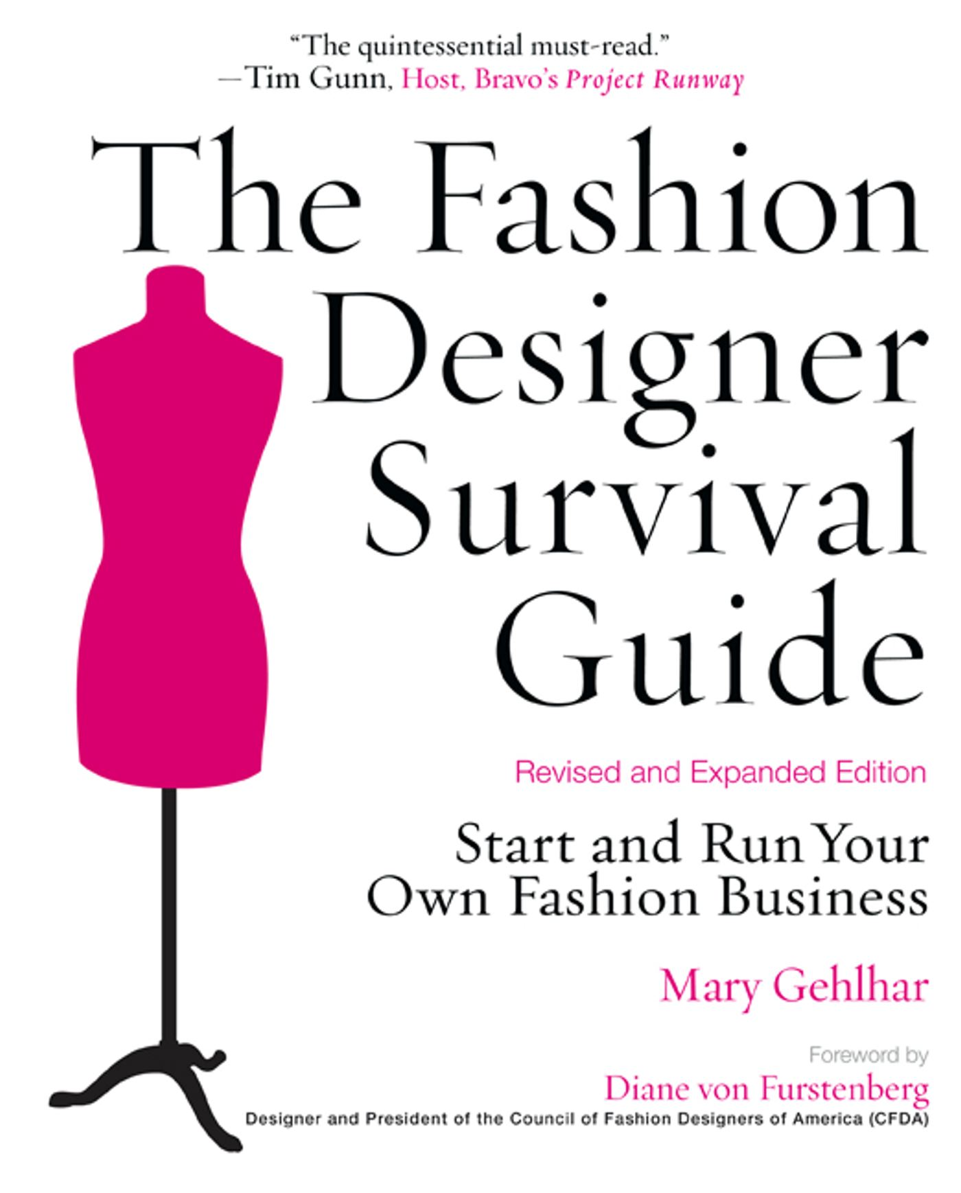 Book Cover Of Fashion ~ The fashion designer survival guide revised and expanded edition