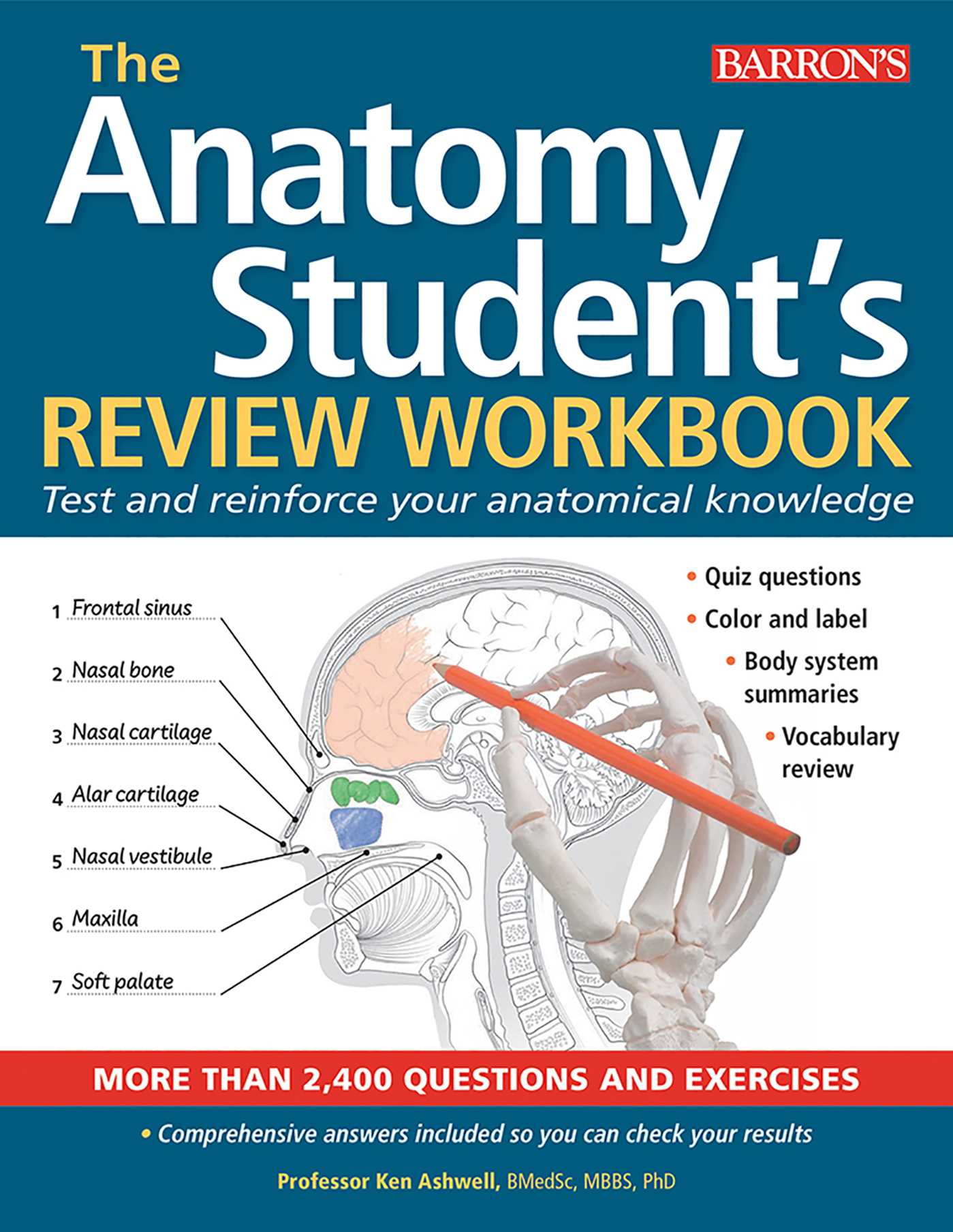 Anatomy Students Review Workbook Book By Ken Ashwell Phd