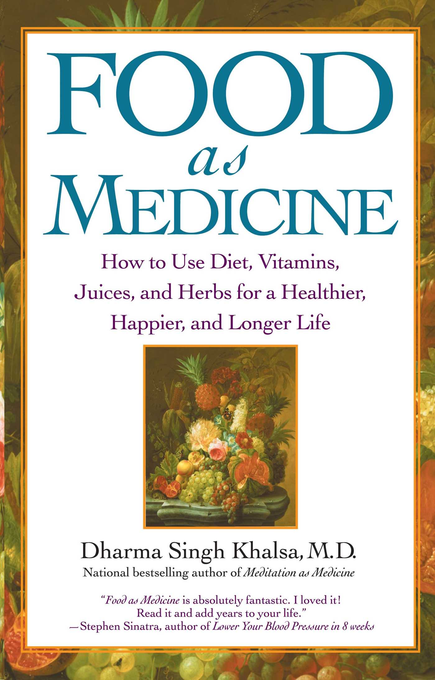 Food as medicine 9781439107591 hr