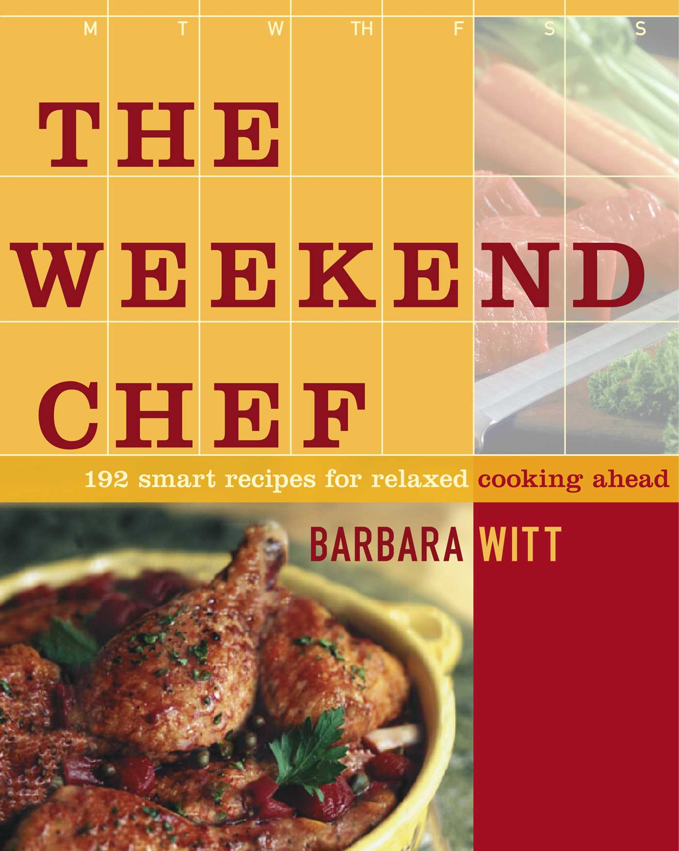The weekend chef 9781439116241 hr